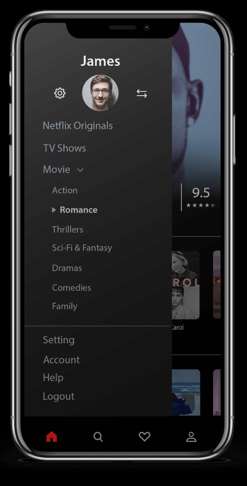 Netflix Clone App Features